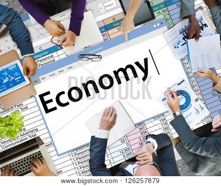Economy Financial Investment Revenue Banking Concept