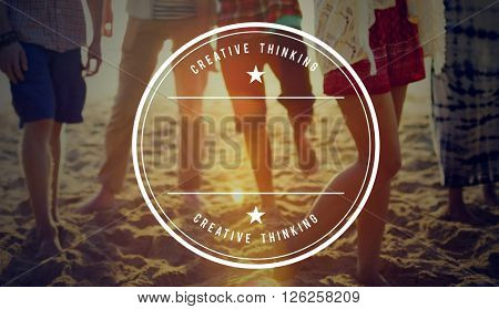 Creative Design Ideas Imagination Innovate Concept