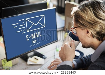 Email Internet Connecting Communication Message Concept