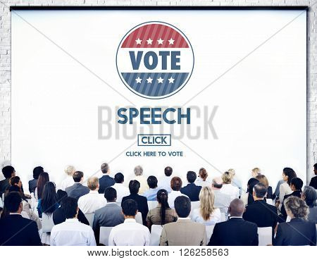 Speech Conversation Speaking Communication Concept