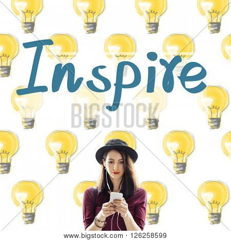 Inspire Aspirations Goal Imagination Innovation Concept