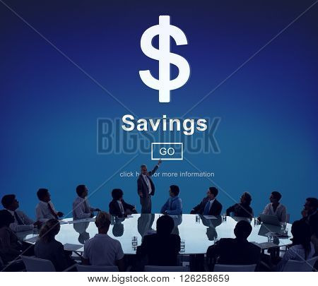 Savings Banking Assets Money Budget Economy Concept