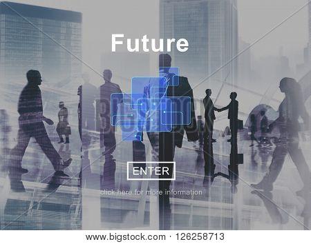 Future Online Technology Global Internet Concept
