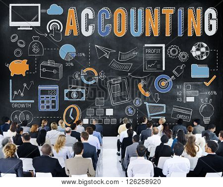 Accounting Business Finance Seminar Concept
