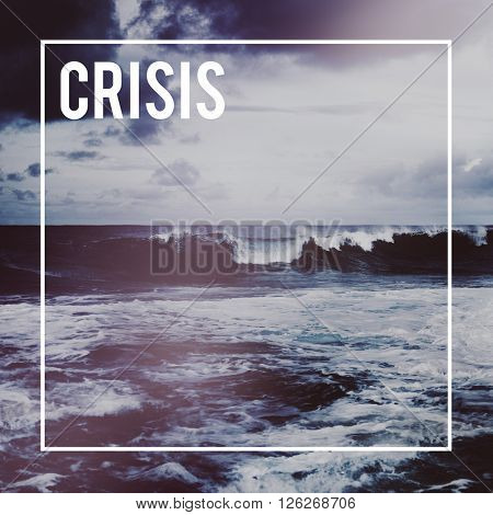 Crisis Disaster Loss Recession Risk Assessment Deprivation Concept