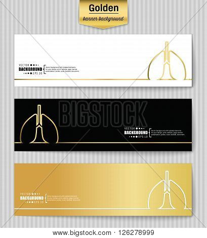 Abstract creative concept gold vector background for web app, illustration template design, business infographic, page, brochure, banner, presentation, brochure, booklet, layout
