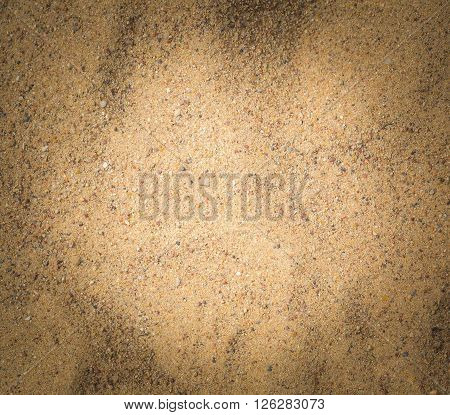 Close Up Of Sand Texture.