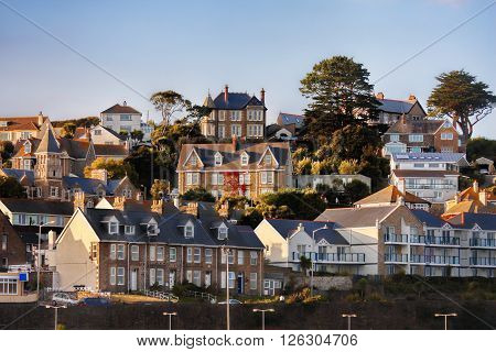 Traditional Houses in Penzance, Cornwall, United Kingdom