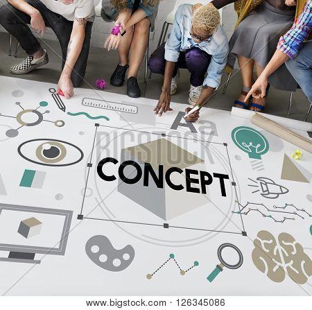 Creative Image Intention Notion Perception Plan Concept