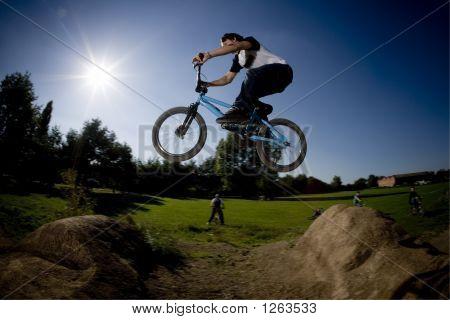 Bmx Dirt Jump Gap