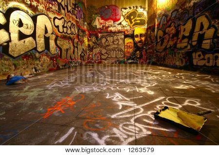 Graffiti Wide Angle