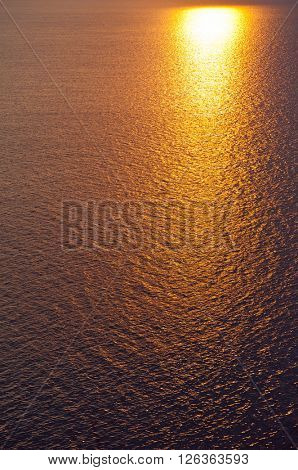 yewoll sunset or sunrise over a wide body of water - ocean , sea or lake.