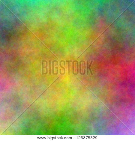 Multi hued Vivid Background