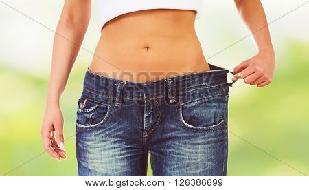 Slim Attractive Waist Woman