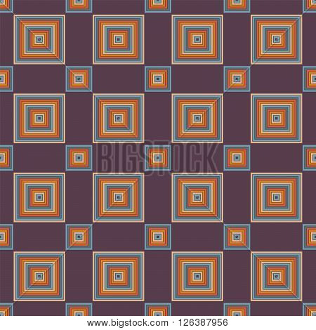 Seamless Abstract Pattern From Rectangles