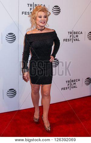 NEW YORK, NY - APRIL 18: Hanala Sagal attends the 'Elvis & Nixon' Premiere during the 2016 Tribeca Film Festival at BMCC John Zuccotti Theater on April 18, 2016 in New York City