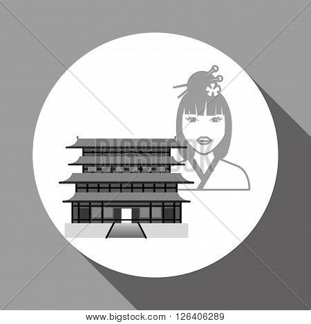 chinese culture concept with icon design, vector illustration 10 eps graphic.