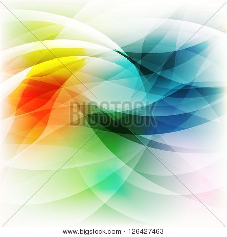 Beautiful vector abstract colorful art background design