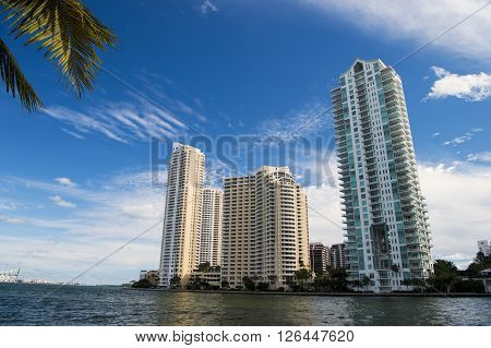 Seascape With Skyscrapers In Bayside