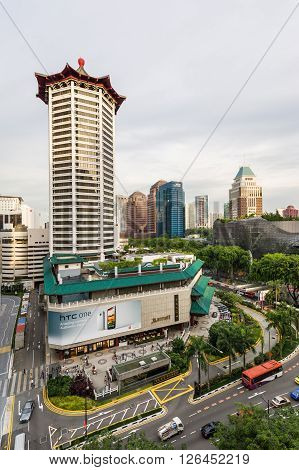 Marriot Tang Plaza Hotel In Orchard Road