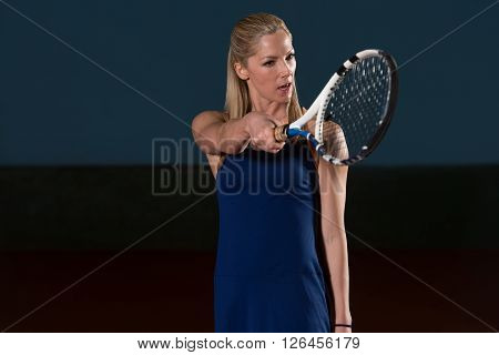 Angry Tennis Player Threatens