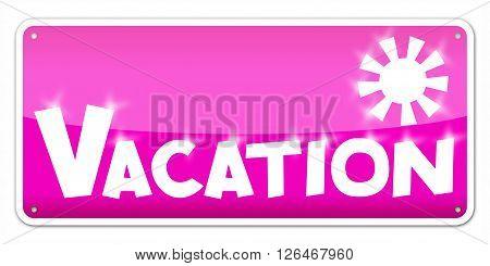 Vacation Card
