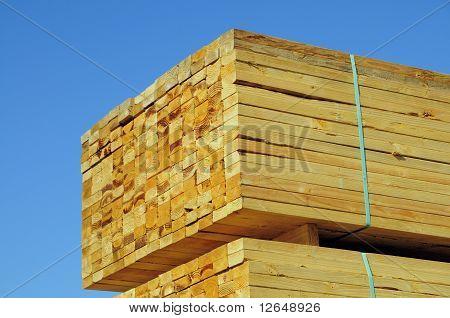 Stacks of Lumber