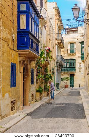 Alley In Birgu