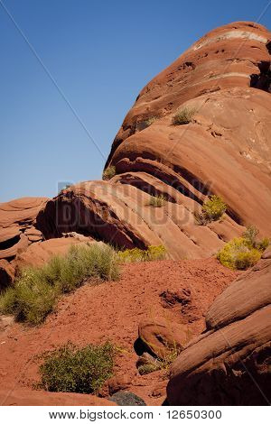 Red rock in Moab Utah