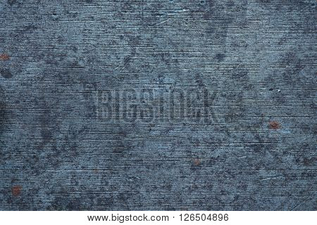 Bluish old metal texture. Old machined metal texture.