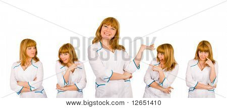 """a comic expressions on one pretty nurse face - See similar images of this """"Medical"""" series in my portfolio"""