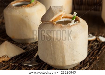 Raw White Young Coconut Drink