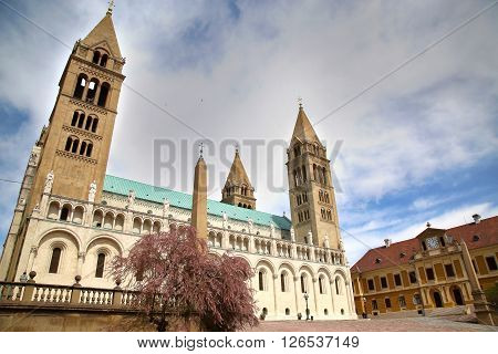 Basilica of St. Peter & St. Paul Pecs Cathedral in Hungary