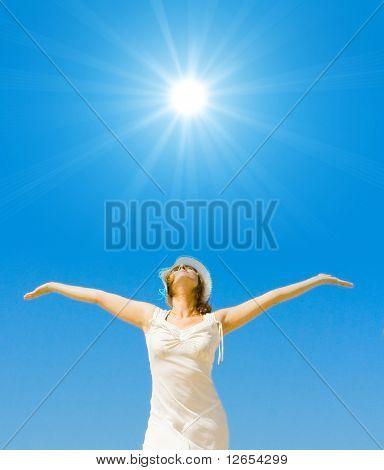 shine on, summer sun!
