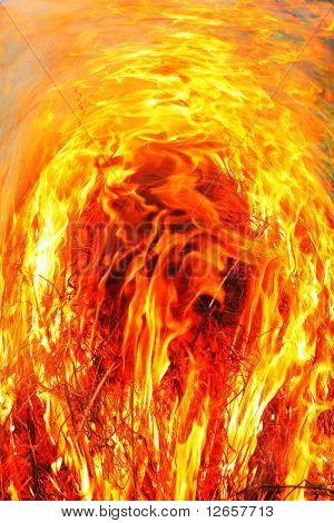 Raging firestorm