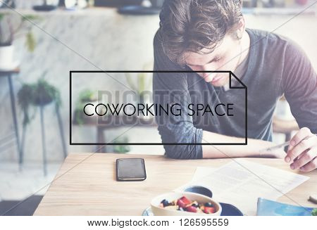 Co-working Space Place of Work Office Concept