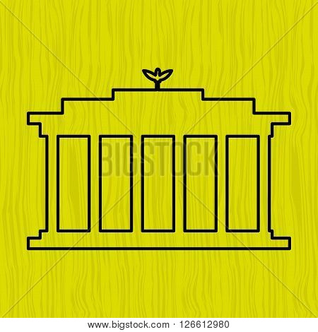 world monument design, vector illustration eps10 graphic
