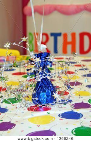 Centro de mesa de cumpleaños