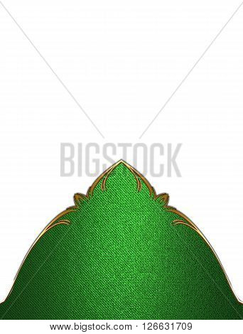 Green Pattern. Template For Design. Copy Space For Ad Brochure Or Announcement Invitation, Abstract