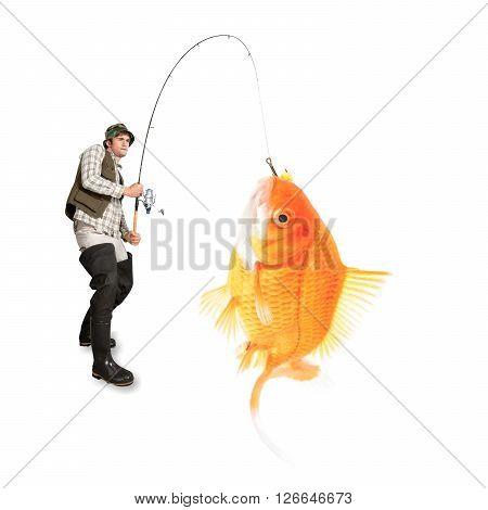 Fishing.