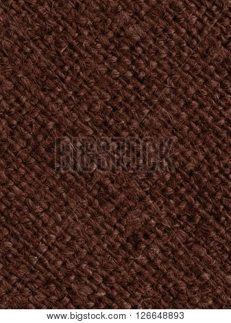 Textile pattern, fabric products, umber canvas, flax material old-fashioned background