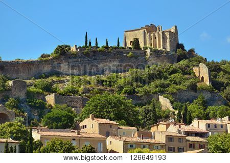 Beautiful Medieval Village of Saint Saturnin Les Apt Provence France