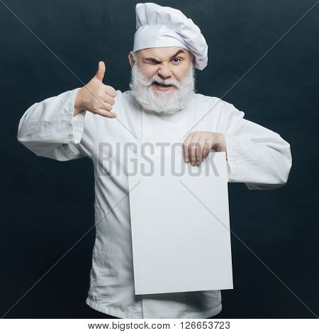 Cook With White Paper