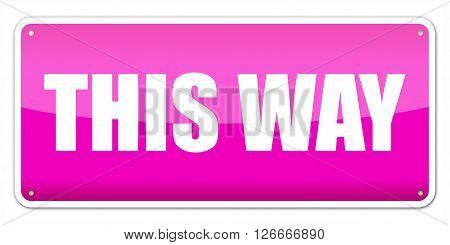 Pink Card This Way