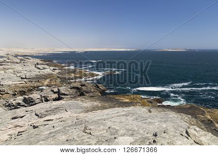 Atlantic Coastline at Diaz Point, Namibia, Africa