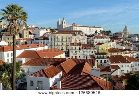 The Church of Santa Engrácia is a 17th-century monument in Lisbon Portugal.