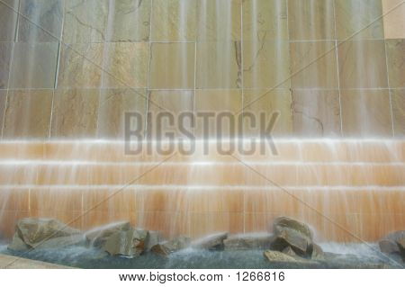 Waterfall Feature Outoors