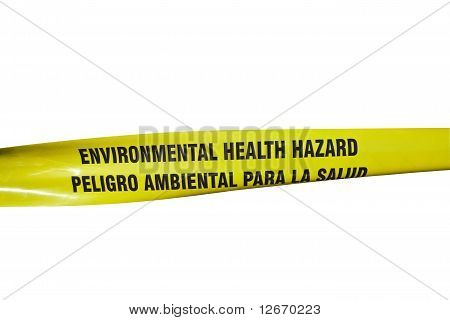 Environmental Health Hazard Tape