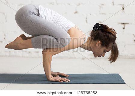Yoga Indoors: Crane Pose