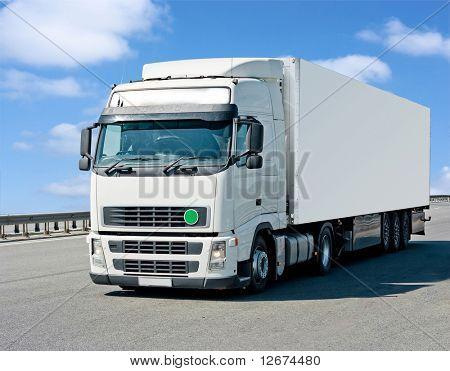 Poster klaar vrachtwagen